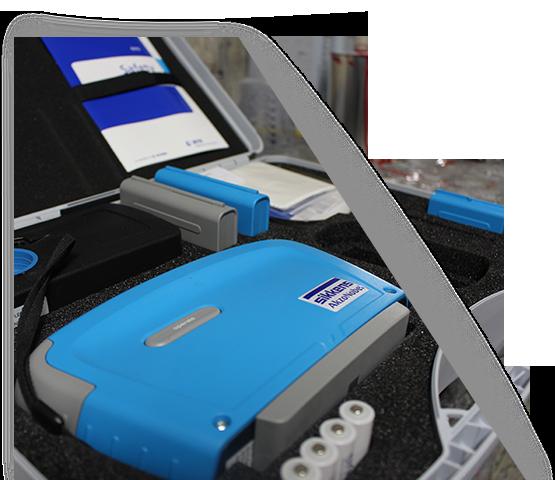 Neu: elektronisches Farbmessgerät